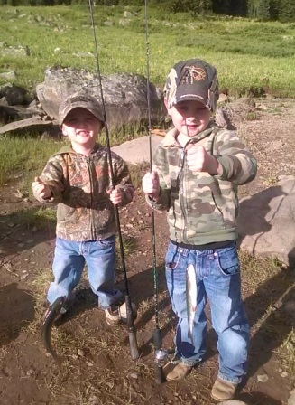 Fishing is fun for all ages in the North Fork Valley!
