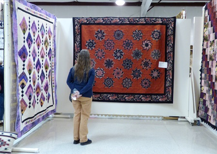S and B Quilters' Guild Bi-Annual Cabin Fever Quilt Show, Delta County Fairgrounds in Hotchkiss.