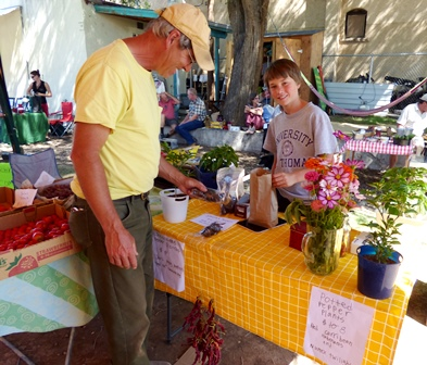 Produce of all kinds is available in season throughout the North Fork Valley.